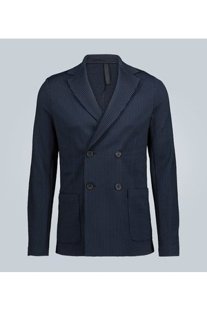 Harris Wharf London Double-breasted cotton blazer