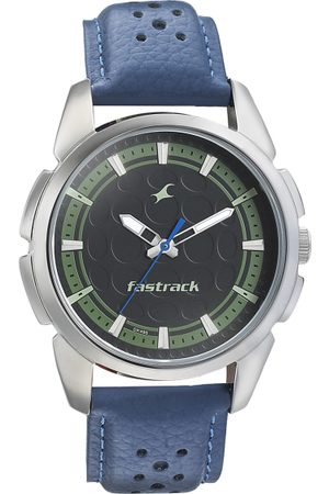 Fastrack Men Black Analogue Watch 3233SL02