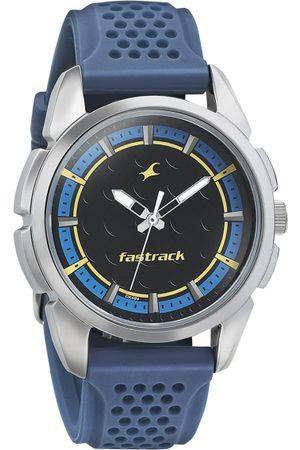Fastrack Men Black Analogue Watch 3233SP01