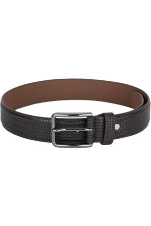 adidas Men Coffee Brown Textured Belt
