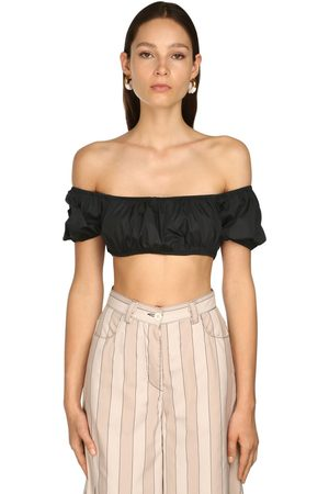 SUNNEI Off-the-shoulder Crop Top