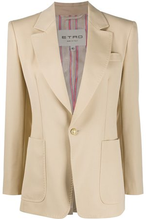 Etro Single-breasted tailored blazer