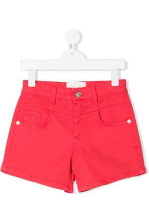 Alberta Ferretti I Love You denim shorts