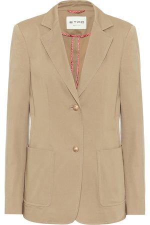 Etro Stretch-cotton twill blazer