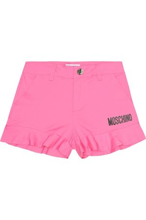 Moschino Logo stretch-cotton shorts