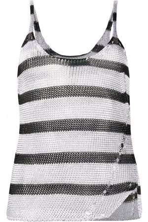 Zadig & Voltaire Joss stripes tank top