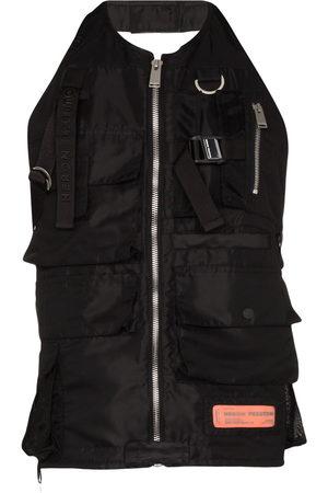 Heron Preston Men Waistcoats - Zipped vest