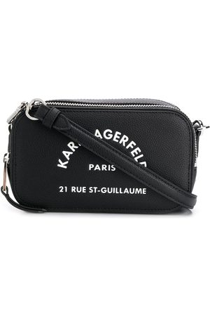 Karl Lagerfeld Address logo crossbody bag