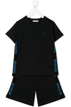 Moncler Side stripe two piece tracksuit