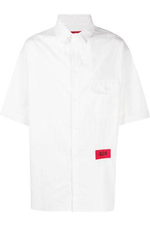 424 FAIRFAX Button down flap pocket shirt