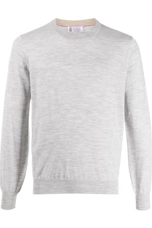 Brunello Cucinelli Men Long Sleeve - Long sleeve relaxed fit pullover