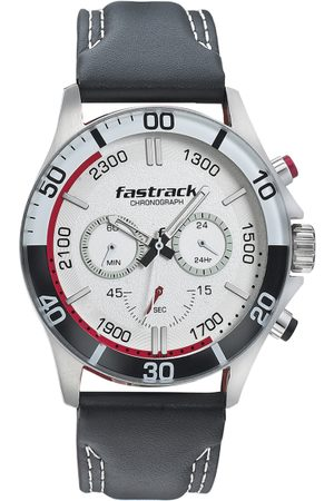 Fastrack Men White Analogue Watch 3072SL14