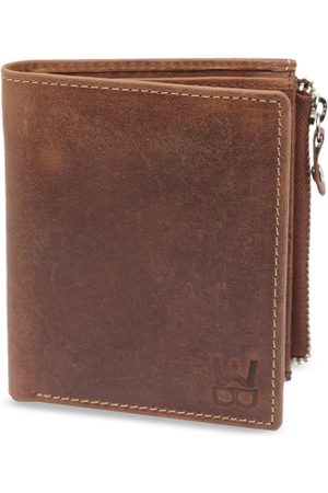 WELBAWT Men Brown Solid Leather Two Fold Wallet