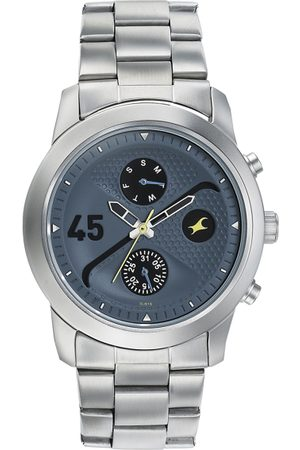 Fastrack Men Blue Analogue Watch 3216SM01