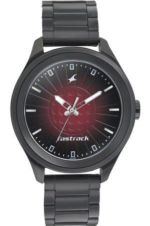 Fastrack Men Black Analogue Watch 3234NM01
