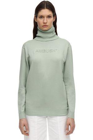 AMBUSH Wool Blend Knit Sweater