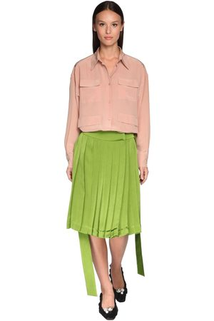 Rochas Silk Crepe Shirt