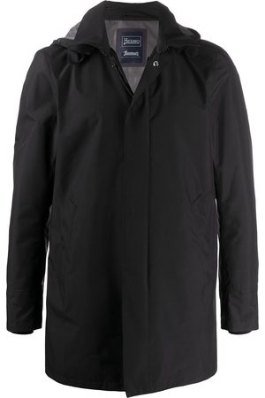 HERNO Zip-up hooded jacket
