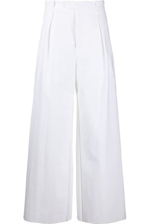 Bottega Veneta High-waisted wide-leg trousers