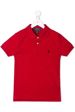 Ralph Lauren Boys Polo Shirts - Embroidered logo polo shirt