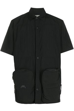 A-cold-wall* Short sleeved snap fastened shirt