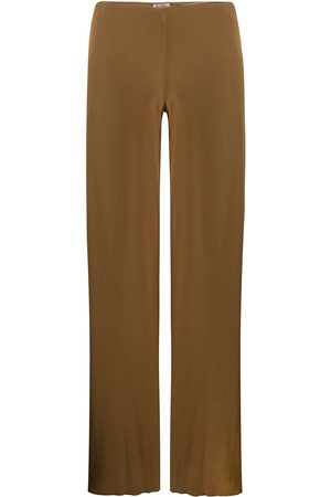 ROMEO GIGLI 1990s wide-legged long trousers
