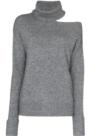 Paige Raundi cutout wool-blend jumper