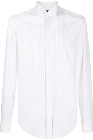 Gianfranco Ferré 1990s pleated details shirt