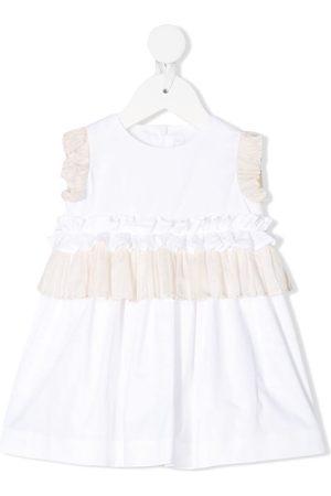 Il gufo Ruffled party dress