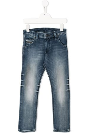 Diesel Tapered distressed jeans