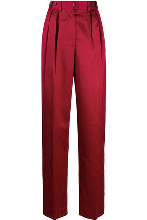 Jean Paul Gaultier 1990s pleated tailored trousers