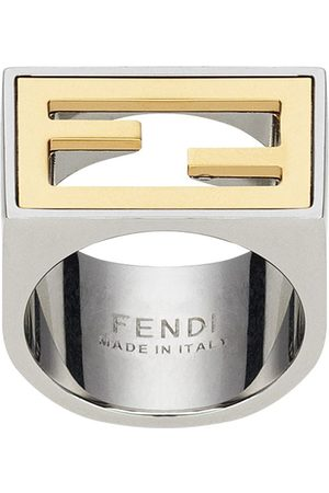 Fendi FF logo ring