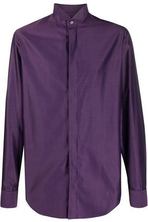 Gianfranco Ferré 1990s concealed fastening shirt