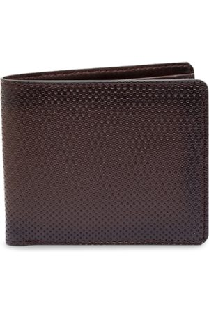 amicraft Men Brown Solid Two Fold Wallet