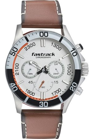 Fastrack Men White Analogue Watch 3072SL15