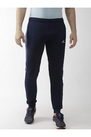 Alcis Men Navy Blue Solid Slim Fit Outdoor Joggers