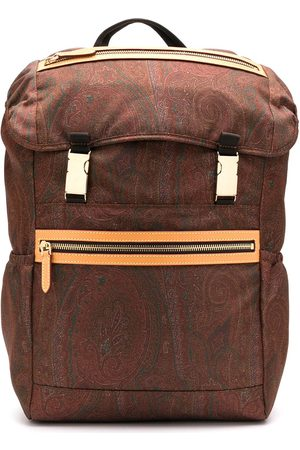 Etro Paisley print backpack