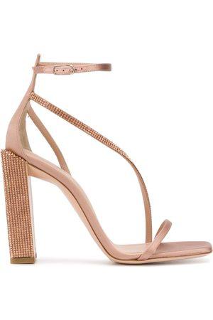 Sebastian Women Sandals - Embellished heel sandals