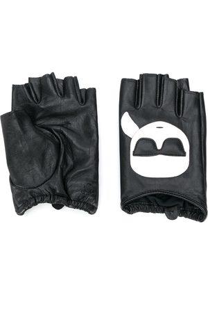 Karl Lagerfeld K/Ikonik fingerless gloves