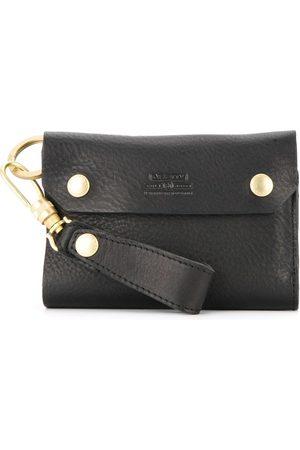 As2ov Men Wallets - Oiled shrink short wallet
