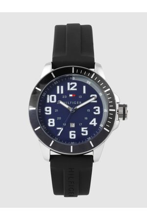 Tommy Hilfiger Men Navy Blue Analogue Watch TH1791661W