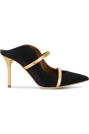 MALONE SOULIERS Maureen 85mm leather mules