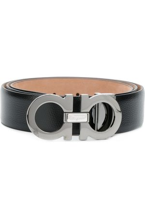 Salvatore Ferragamo Double Gancini buckle belt