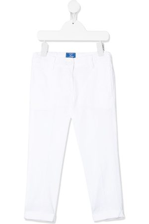 FAY KIDS Mid-rise straight leg jeans
