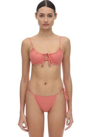 PALM SWIM Viper Bikini Top W/ Underwire