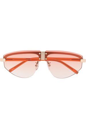 Linda Farrow Hyacinth aviator frame sunglasses