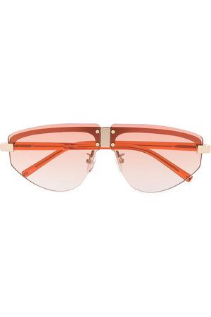 Linda Farrow Women Aviator Sunglasses - Hyacinth aviator frame sunglasses