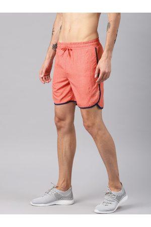 HRX Men Red Rapid Dry Lightweight Dolphin Running shorts
