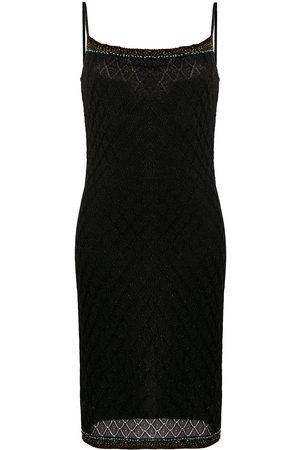 Dior 2000s pre-owned bead embroidered lurex dress