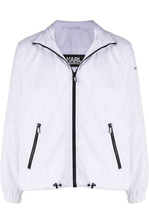 Karl Lagerfeld Two-tone zipped jacket
